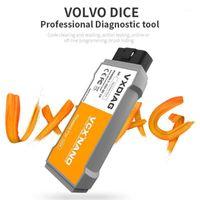 2020 VXDIAG VCX диагностический инструмент для VIDA Dice 2014D OBD2 кодовой сканер OBD2 автомобильный диагностический инструмент 2014D VIDA Dice Pro1