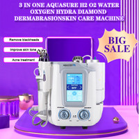 살롱과 가정을위한 6 일 hydrafacial Aquasure H2 딥 클렌징 초음파 휴대용 기계