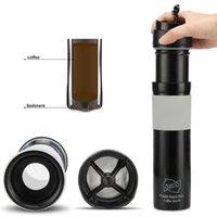 Coffee Tosters Mini Máquina Máquina Manual Presión portátil Espresso Handheld para Home Icoco1