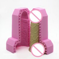 3D 아름다움 남근 실리콘 퐁당 케이크 장식 도구 초콜릿 금형 비누 캔들 금형 E868 201023