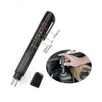 브레이크 유체 액체 테스터 자동차 디지털 DOT3 / DOT4 자동차 테스트 5 LED 진단 표시기 PEN1 도구