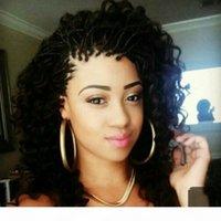 Hotselling 블랙 브라운 금발 짧은 머리 띠 가발 아기 헤어 상자 머리 띠와 합성 레이스 프런트 가발 아프리카 여성을위한 짧은 곱슬 가발