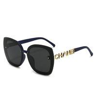 2021 NOUVEAU MODE HAUTE QUALITÉ Design Sunglasses de haute qualité Marque de haute qualité Lentille polarisée lunettes lunettes lunettes de lunettes pour femmes lunettes en métal 548