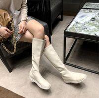 Femmes Boots Bottes d'hiver Bottillons Noir Blanc Élastique plissé épais Fashion Femme Femmes Boot Shoot Chaussures Taille 35-40 03