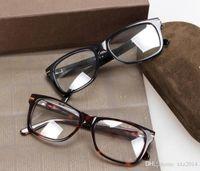 نظارات للجنسين الساخنة الإطار 54-18-145 للصفة نظارات نظارات مضادة للأزرق uv400 جودة نقية لوح كامل حافة كاملة حالة بالجملة