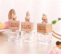 Samochodowa butelka perfum do olejków eterycznych Odświeżacz powietrza Auto Ornament Samochód Stylizacja Perfumy Wisiorek Puste Akcesoria samochodowe