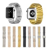 Paslanmaz Çelik Metal Band Watchband Apple Watch Serisi için 6 SE 5 4 3 IWatch Aksesuarları Bilezik Kayışı 38 40 42 44mm