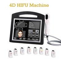 살롱 초음파 4D HIFU 피부 강화 얼굴 리프팅 기계 휴대용 초음파 기계 얼굴 관리에 대 한 3D HIFU 기계