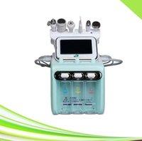 Más reciente 6 en 1 removedor de cabezal de espalda de vacío hidradermasión limpiadora facial de limpieza de hidroadermasion