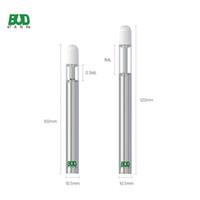 Penna vape monouso Bud D4 0.5ml 1.0ml serbatoio Serbatoio 350mAh Batteria Bobina di ceramica E sigaretta 510 filettatura vaporizzatore di olio spessa