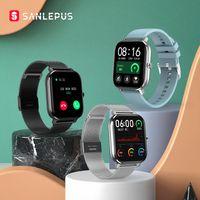 SanLepus ECG Smart Watch Bluetooth Anruf 2020 Neue Männer Frauen Wasserdichte Smartwatch Herzfrequenz Monitor für Android GTS Apple Telefon