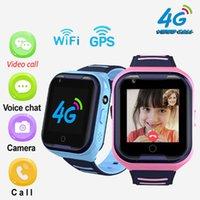 2020 Hot A36e 4G Smart Kids Watch Водонепроницаемый IPX7 Wi-Fi GPS Видео Вызов Монитор Tracker Clock Студенты Наручные Часы Дети Детские GPS Часы