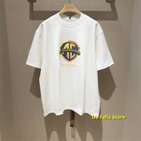 ADER ERROR COMPAÑÍA Camiseta ADER PARADY T-SHIRTS 2020 Hombres Mujeres Verano de gran tamaño AderError Tee Casual Streetwear Tops X1214