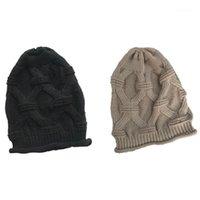 قبعة / جمجمة قبعات slouchy قبعة صغيرة متماسكة قبعة لينة للنساء والرجال 1