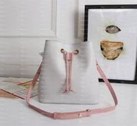 2021 مصمم الأزياء حقائب فاخرة حقائب الشمبانيا حقيبة نوي نيونو دلو حقيبة المرأة العلامة التجارية الكلاسيكية نمط حقائب الكتف جلد طبيعي