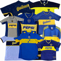 Ретро Classic 1981 1995 96 97 98 99 2000 96 97 98 99 2000 2001 2002 2003 2004 2005 BOCA JUniors Soccer Technys Roman Maradona Limited ретро футболка