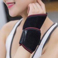 Bilek Destek Erkekler Kadınlar Isıtma Pedi Elektrikli Isıtmalı Brace Tendonit USB Şarj El Isındı Rahat Yumuşak Çok İşlevli Wrap