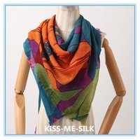 KMS Latest New boiled wool lily shawl scarf autumn and winter for Women 110*125CM 102G