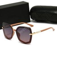 브랜드 디자이너 안경 남성 여성 패션 멋진 여름 스타일 편광 안경 선글라스 태양 안경 2 세트 렌즈 케이스