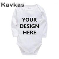Kavkas 2020 الصلبة ملابس الطفل شخصية تخصيص القطن الصيف الطفل السروال القصير 0-24 أشهر الوليد bebes الملابس 1
