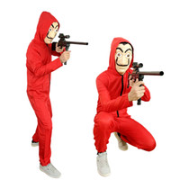 Free shipping Dali Movie Unisex Costume for La Casa De Papel...