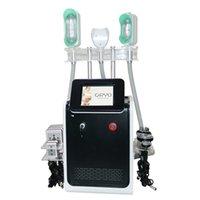 Cryolipólizas de alta calidad congelación de grasa máquina de adelgazamiento crioterapia adelgazante de grasa congelación de grasa reducción de grasa 360 grados con 3 asas criovas # 003
