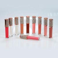 Eyeliner No logo Glitter Lip Gloss Gloss Commercio all'ingrosso Bulk Cosmetici Carino Trucco Impermeabile Lipgloss Lipgloss Etichetta privata 60 Colori personalizzati