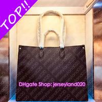 M45320 OnTheGo GM MM M45321 Designer File Lady libro Tote IT Shopping Affari spalla casuale portatile borsa da viaggio Pochette Accessoires Cles