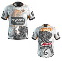 Top New 2018 2019 2020 2021 West Tiger Rugby Jerseys Home Away Liga de Rugby Jersey 19 21 21 Camisas S-5XL