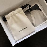 شعار مجوهرات مجوهرات أكياس هدية صغيرة القطن الجلد المدبوغ حقيبة الغبار والدليل على المجوهرات التخزين مستحضرات التجميل الحرف حقائب التعبئة والتغليف لشركة بوتيك للبيع بالتجزئة