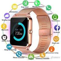 100 шт. Z60 Smart Watch 1.54 дюйма цветной экран ступенчатой спящего мониторинг будильник умный износ Bluetooth-карты спортивные часы для: iPhone Samsung