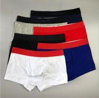 الصيف الرجال الملاكمين 2020s جديد وصول ملابس داخلية رجالي عارضة الازياء سروال 6 ألوان الحجم M-2XL