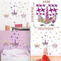 유니콘 스티커 새로운 스타일 인기있는 유니버셜 어린이 룸 월 스티커 크리 에이 티브 스타 Doodling Paster 공장 직접 판매 6 1DC P1
