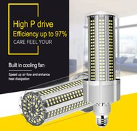 Super Bright LED E27 Corn Bulb 80W-200W LED Lamp 110V 220V Smart IC E39 E40 Big Power For Outdoor Playground Warehouse Lighting