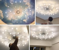 2021 Modern LED Plafoniere Lampade da soffitto Creativo Plafoniera Europeo per soggiorno Camera da letto soggiorno Ristorante Ristorante Denthroom Deco Illuminazione