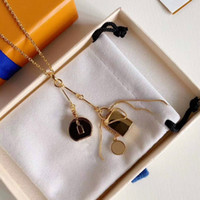 Fashion Pendant Necklaces Fashion Necklace for Man Woman Necklaces Jewelry Pendant Highly Quality 5 Model Optional