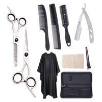 """Ножницы для резки волос набор 6 """"JP 440C прореживающие ножницы парикмахерские парикмахерские ножницы бритвы профессиональные ножницы для волос красоты ножницы A1001"""