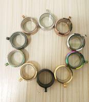 2PCS الرغبات الفولاذ المقاوم للصدأ لؤلؤة المناجد 30MM عقد لؤلؤ 6-8 المغناطيسي العائمة المنجد المعلقات للنساء مجوهرات هدية