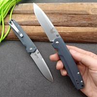 Bench BM485 D2 Falten EDC Camping Schmetterling Trainer Messer Überlebens-faltendes Messer a3062