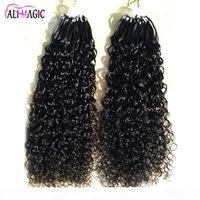 """Micro Bague Extensions de cheveux 1G Stand 100pieces Machine fabriquée à la boucle de cheveux Micro Bead Remy Coiffure humaine 12 """"-26"""" Butterfly Series"""