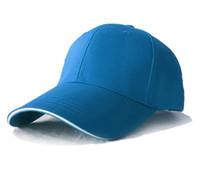 Baseball Snapback Headwear Cappelli Four Seasons Cotton Outdoor Sport Regolazione Cappuccio Cappello per cappello ricamato Uomini e donne Sunckcreen Sunhat Cap