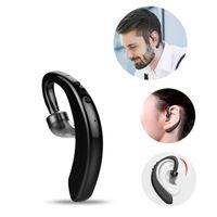 Sweat-proof Earphone M20 Single Ear Wireless Sports BT Earbuds Mini Business Style Ear Hook Hanging Earpiece Stereo Earphone