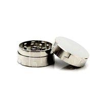 Przenośne 30mm Mini Mini papierosowe Akcesoria do palenia Płaskie Stopu Cynku Manual 3 Layer Metal Crusher Crusher