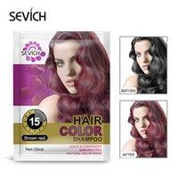 Color de pelo Champú Gris Eliminación de cabello Dye Coloring Coloring Crea Fácil uso para hombres Mujeres para Halloween Navidad Cosplay Pelo Estilo Pelo