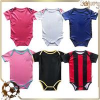 2021 bebé bebé fútbol jersey club equipo camisetas fútbol camisas lindo traje para niños uniformes 9-18 meses niño footba