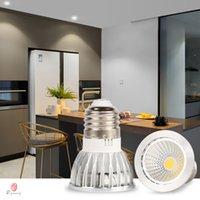 Ultra Spotlight LED Brilho Lâmpadas COB E26 / E27 Titular 3W / 5W / 7W / 9W / 10W / 12W de qualidade Premium Em vez de halogéneo Aparelho de iluminação