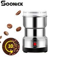 طاحونة القهوة الكهربائية قريبا طاحونة مصغرة مطورة الفولاذ المقاوم للصدأ شفرة فاصوليا الأعشاب المكسرات المحمولة مطحنة للمطبخ