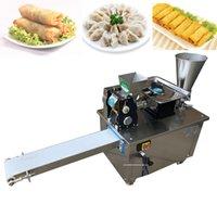 2021New نوع آلة الزلابية الأوتوماتيكية؛ صانع الزلابية؛ آلة التفاف الزلابية الفولاذ المقاوم للصدأ آلة صانع Empanada 110/220 فولت