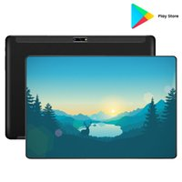 Tablet PC 2021 Vendedor Android 9.0 10 polegadas Octa Core 8GB RAM 128GB ROM 4G LTE 1280X800 IPS 8.0MP Dual SIM Card 10.1 Laptop