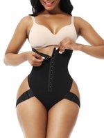 Shapers femininas espartilho espartilho de cintura secreta treinador alta barriga calcinha bulifter shaper tanga com 2 alças laterais underwear fajas